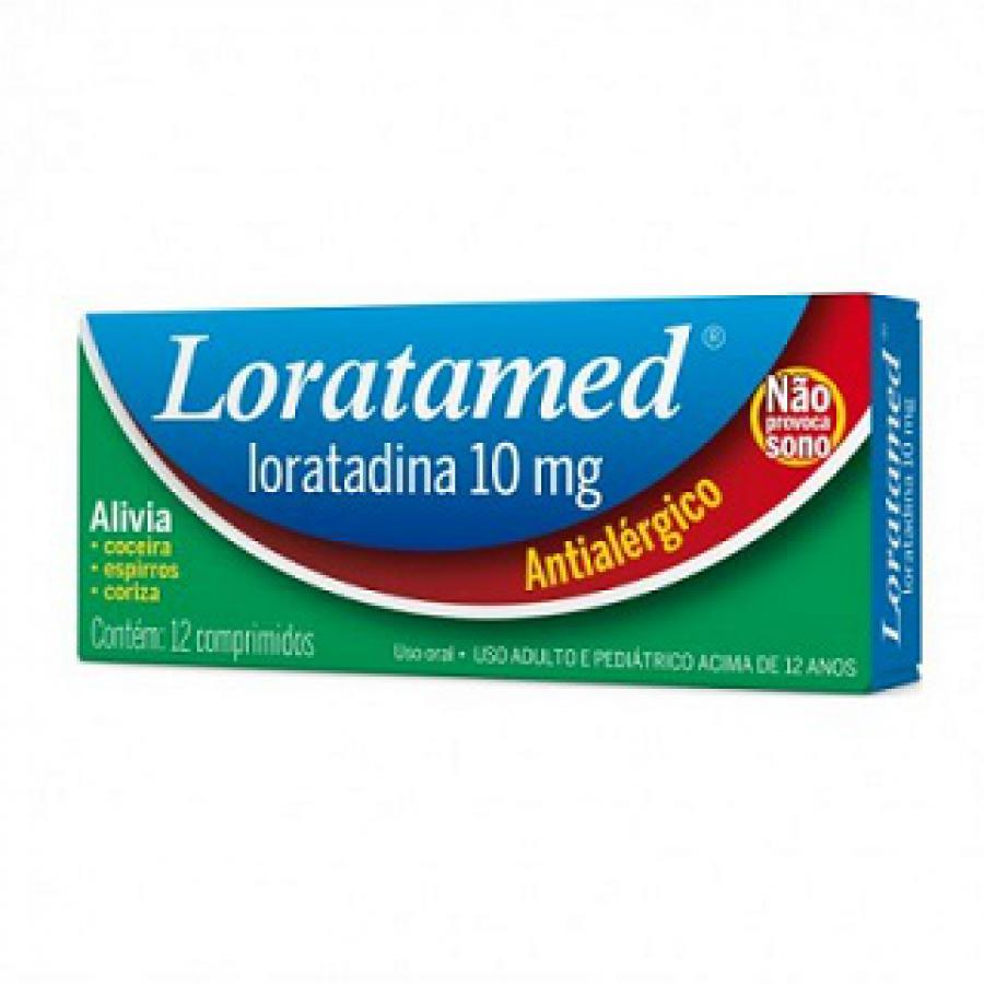 LORATAMED 10 MG C/12 CPR