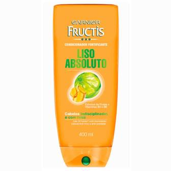 FRUCTIS COND  LISO ABSOLUTO 400ML