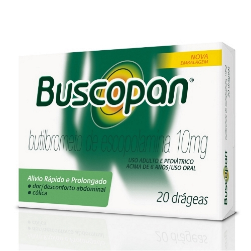 BUSCOPAN 10 MG C/20 DRG