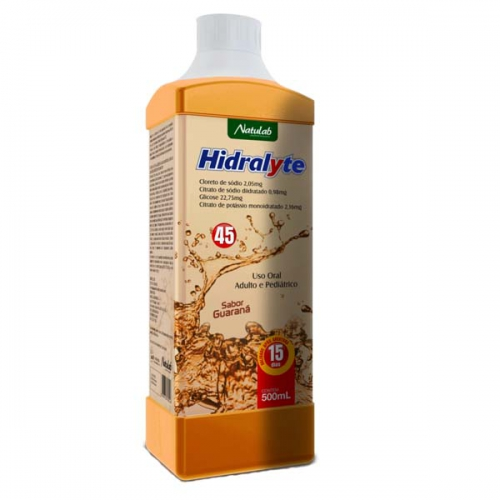 HIDRALYTE GUARANA 500ML
