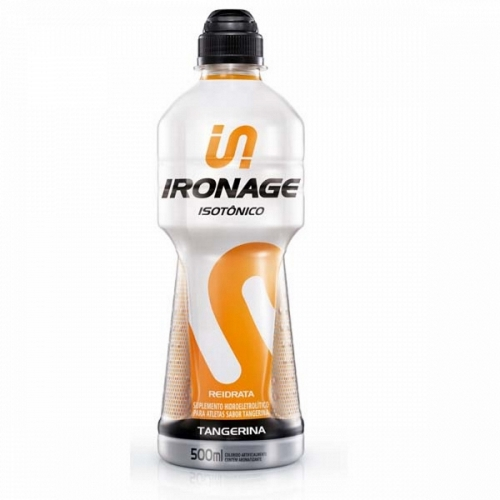 Isotônico Ironage tangerina 500ml