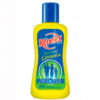 REPELENTE REPELEX CITRONELA LOCAO FAMILY CARE 100ML