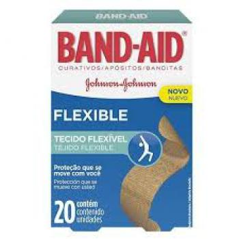 BAND-AID FLEXIBLE C/20