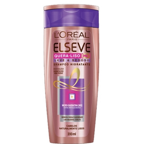 ELSEVE SH QUERA LISO  LEVE 200ML