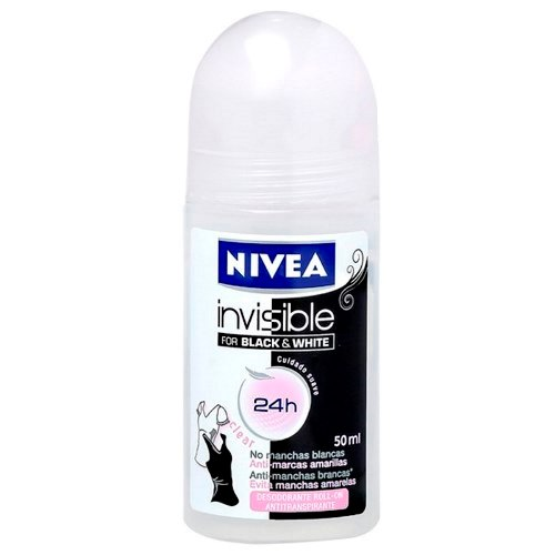 NIVEA DES FEM ROLL B&W CLEAR 50ML