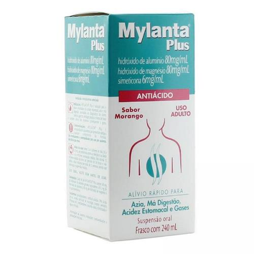 MYLANTA PLUS MORANGO C/240 ML
