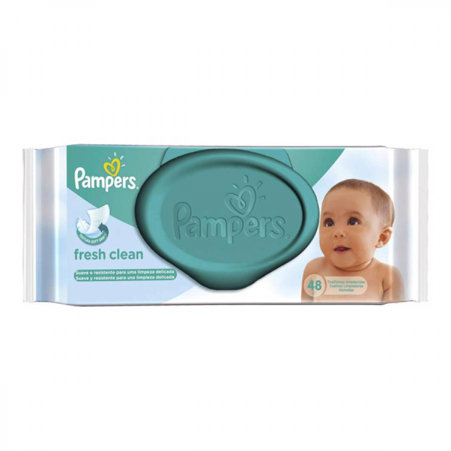 PAMPERS TOALHA 48UN FRESH CLEAN