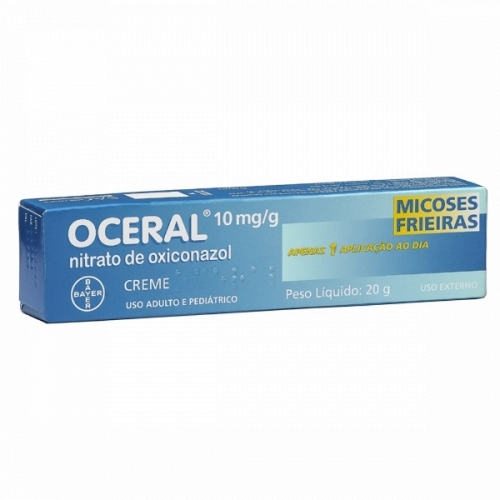 OCERAL 10 MG CR C/20 GR