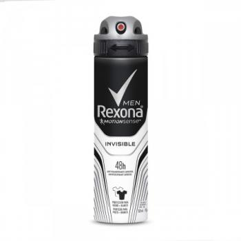 Desodorante Aerosol Rexona Men Invisible 150 ml