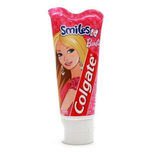 CR DENT COLGATE JR BARBIE 100G*