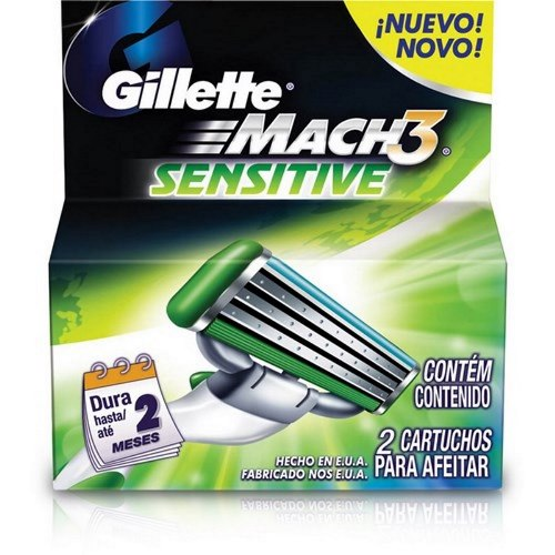 CARGA GILL MACH 3 C/2 SENSITIVE*