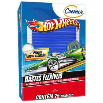 HASTES FLEXIVEIS HOT WHEELS C/75 UN