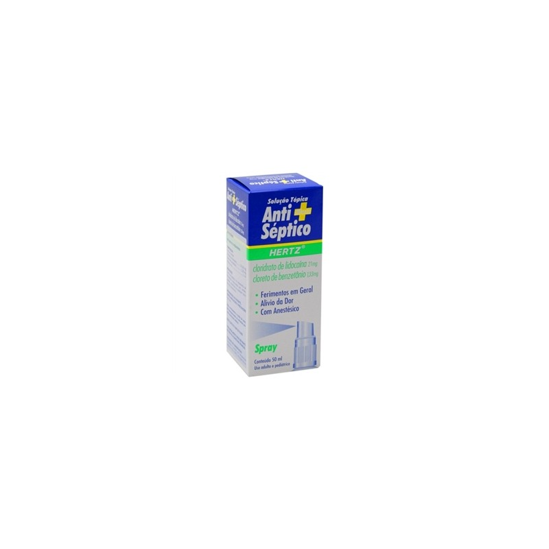 ANTI SEPTICO HERTZ SOL TOPICA 30ML