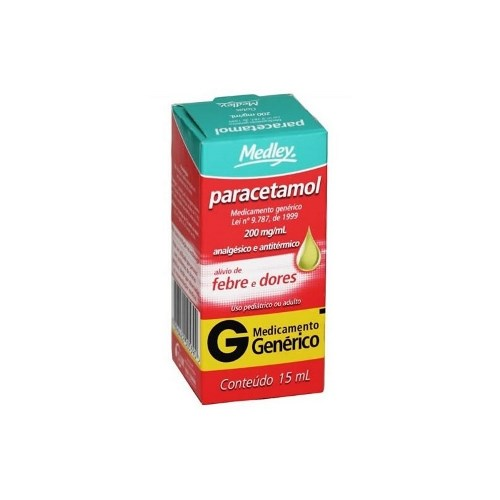 PARACETAMOL GTS 200 MG 15ML