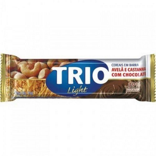 Barra Cereal Trio Light Avelã / Castanha 25g