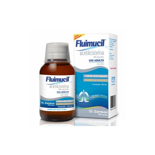FLUIMUCIL 40MG XPE ADULTO 120ML