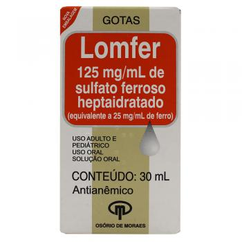 LOMFER 125 MG GTS C/30 ML