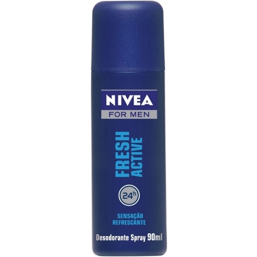 NIVEA DES SPRAY FRESH ACTIVE 90ML