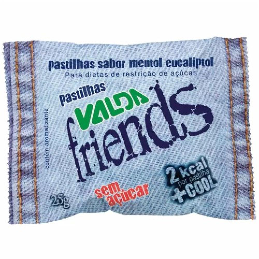 VALDA FRIENDS  PAST S/ACUCAR C/25 GR