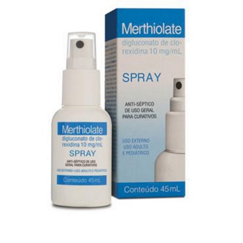 MERTHIOLATE 10 MG SPRAY C/45 ML